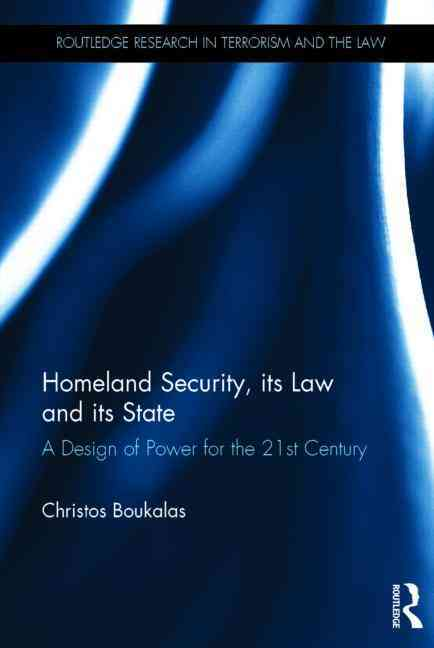 US Counter-Terrorism Law and Policy By Boukalas, Christos